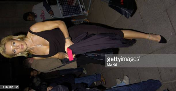 Nell McAndrew during 'In Her Shoes' London Premiere After Party at Grosvenor House Park Lane in London Great Britain