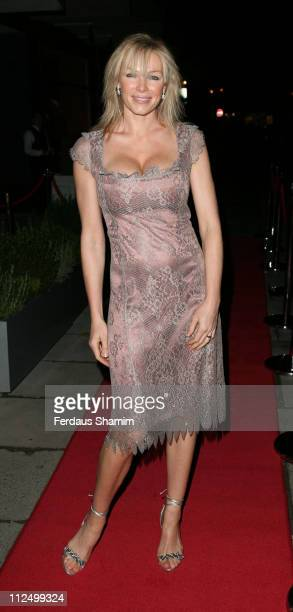 Nell McAndrew during Jumeirah Bar and Hotel Launch at Lowndes Street London in London Great Britain