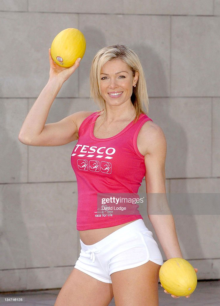 Tesco Personal Trainers Photocall with Nell McAndrew