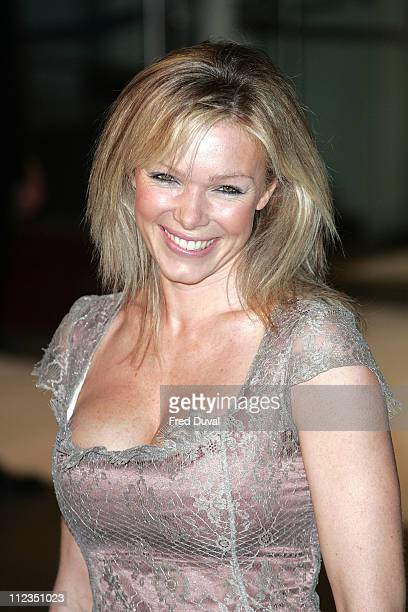 Nell McAndrew during 'The Holiday' London Premiere Outside Arrivals at Odeon Leicester Square in London Great Britain