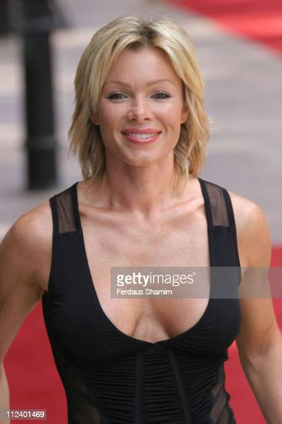 Nell McAndrew during 'War of the Worlds' London Premiere at Odeon Leicester Square in London Great Britain