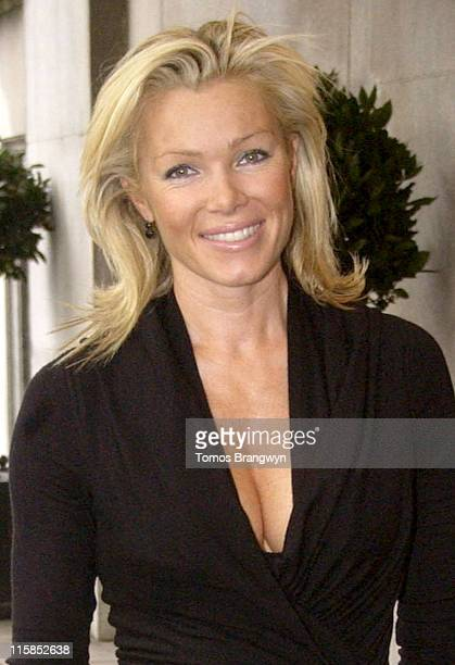 Nell McAndrew during 'Wondermums' Award Ceremony Arrivals at Savoy in London Great Britain