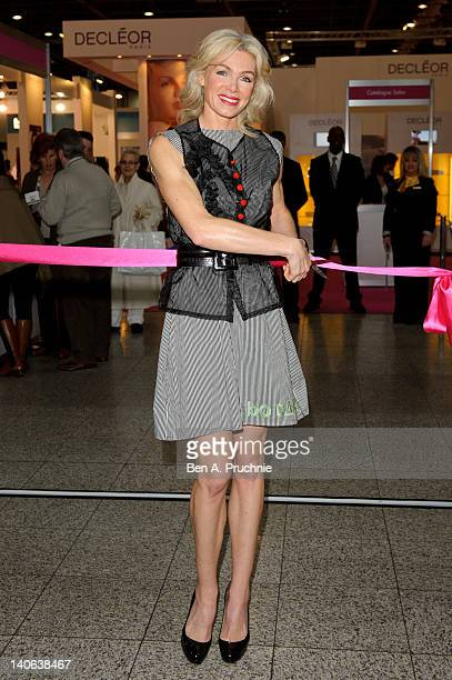 Nell Mcandrew opens The Professional Beauty Show 2012 at ExCel on March 4 2012 in London England