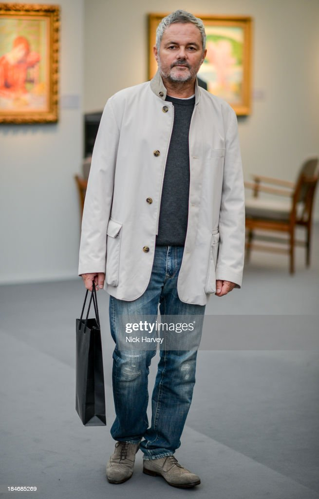 Nellee Hooper attends the private view for Frieze Masters on October 15, 2013 in London, England.
