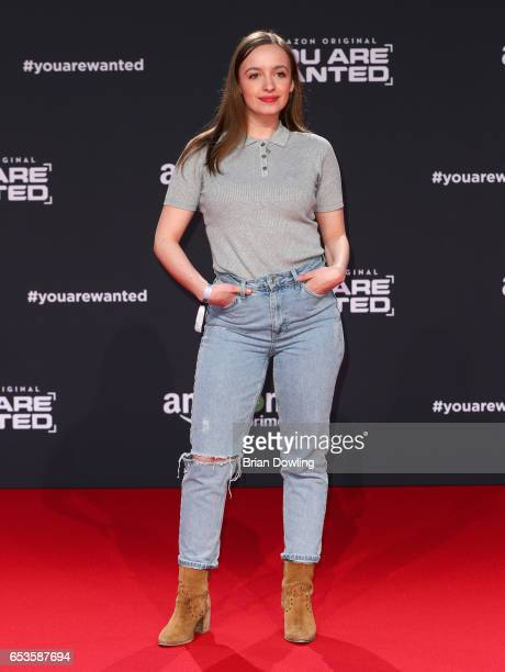 Nellie Thalbach arrives at Amazon Prime Video's premiere of the series 'You are Wanted' at CineStar on March 15 2017 in Berlin Germany