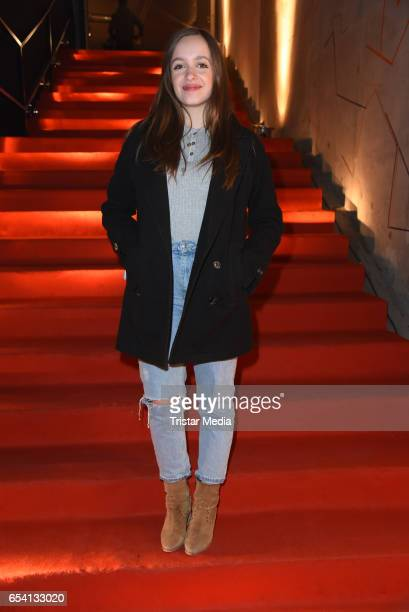 Nellie Thalbach attends the After Party of the premiere of the Amazon series 'You are wanted' at CineStar on March 15 2017 in Berlin Germany