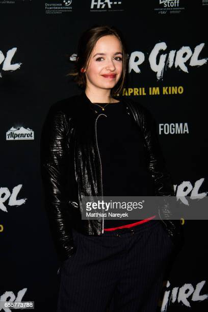 Nellie Thalbach attends the premiere of the film 'Tiger Girl' at Zoo Palast on March 20 2017 in Berlin Germany