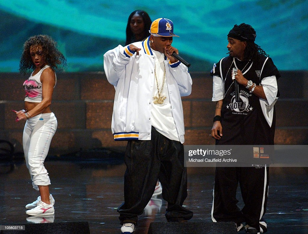 <a gi-track='captionPersonalityLinkClicked' href=/galleries/search?phrase=Nelly+-+Rapper&family=editorial&specificpeople=11499081 ng-click='$event.stopPropagation()'>Nelly</a> during 2003 Radio Music Awards - Show at The Aladdin Hotel and Casino in Las Vegas, Nevada, United States.