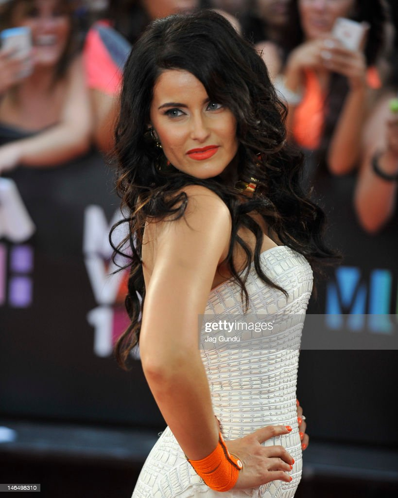Nelly Furtado arrives at the 2012 MuchMusic Video Awards at MuchMusic HQ on June 17, 2012 in Toronto, Canada.