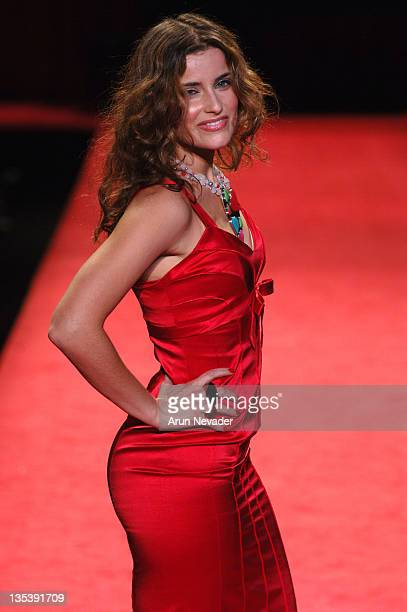 Nelly Furtado at Heart Truth Red Dress during Olympus Fashion Week Fall 2006 'Heart Truth Red Dress' Runway at The Tent Bryant Park in New York New...