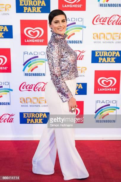 Nelly Furtado attends the Radio Regenbogen Award 2017 at Europapark on April 7 2017 in Rust Germany
