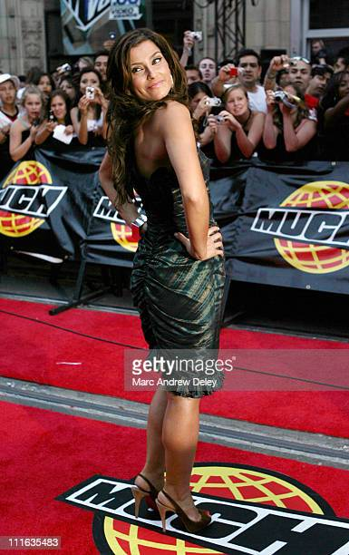 Nelly Furtado during 17th Annual MuchMusic Video Awards Red Carpet at Chum City Building in Toronto Ontario Canada