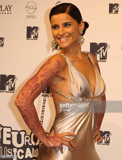 Nelly Furtado during 2006 MTV European Music Awards Copenhagen Press Room at Bella Centre in Copenhagen Denmark