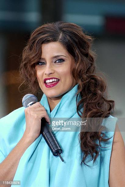 Nelly Furtado during Nelly Furtado and Timbaland Perform on the NBC's 'The Today Show' June 22 2006 at NBC in New York City New York United States