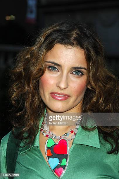 Nelly Furtado during The Heart Truth Red Dress Collection Fashion Show Arrivals and Departures at The Olympus Fashion Week in New York New York...