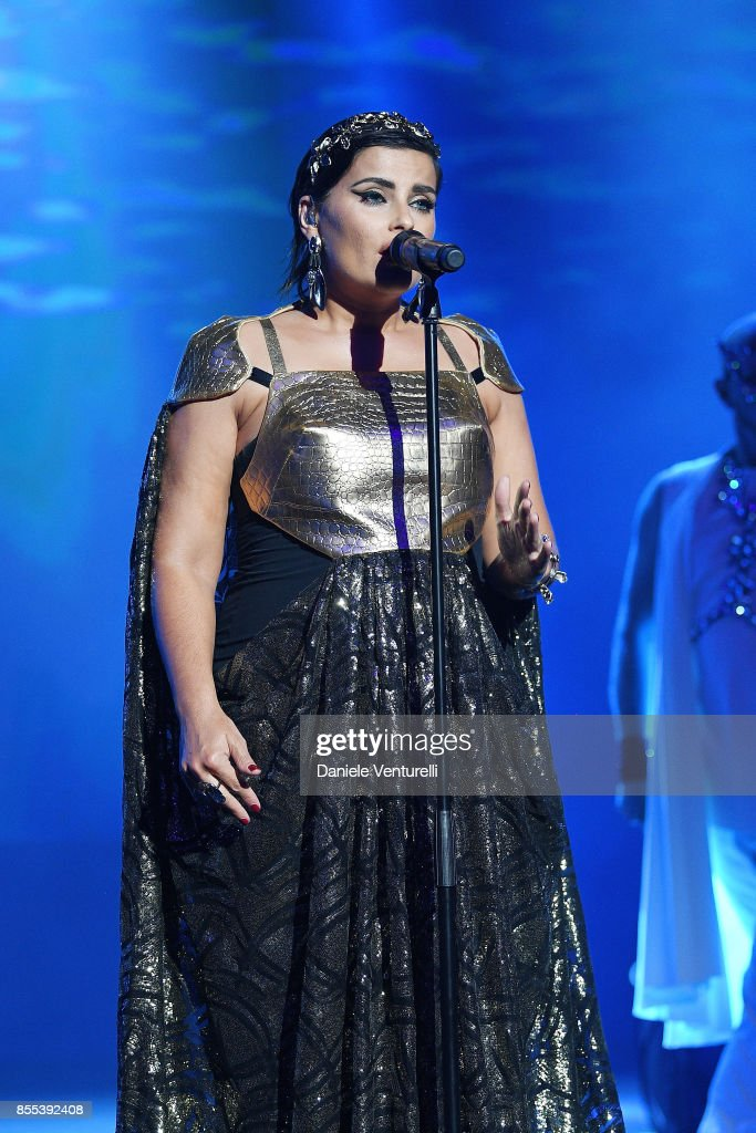 Nelly Furtado performs on stage at the auction for the inaugural 'Monte-Carlo Gala for the Global Ccean' honoring Leonardo DiCaprio at the Monaco Garnier Opera on September 28, 2017 in Monaco, Monaco.