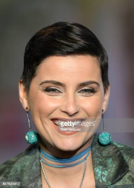 Nelly Furtado visits 'Extra' at Universal Studios Hollywood on March 3 2017 in Universal City California