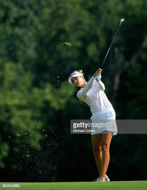 Nelly Korda during the second round of the Marathon Classic Presented By Owens Corning And OI held at Highland Meadows Golf Club on July 21 2017 in...
