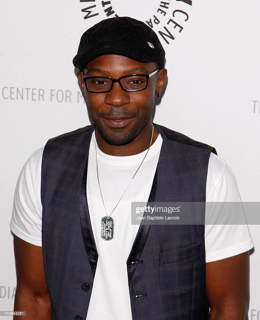 Nelsan Ellis arrives at PaleyFest09 presentation of 'True Blood' at the ArcLight Cinemas on April 13 2009 in Hollywood California