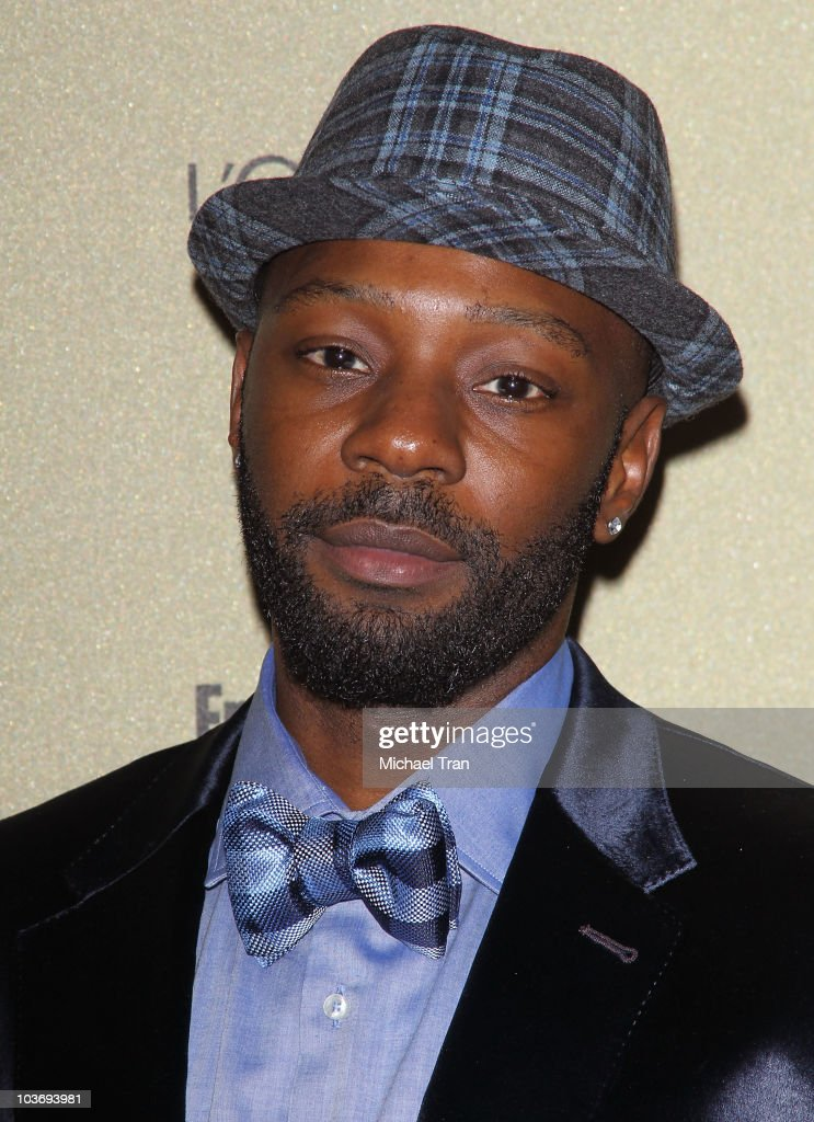 Nelsan Ellis arrives at the Entertainment Weekly and Women In Film preEMMY party held at The Sunset Marquis Hotel on August 27 2010 in West Hollywood...