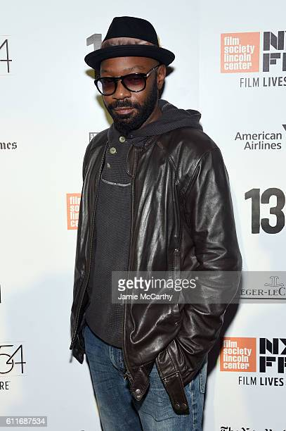 Nelsan Ellis attends the 54th New York Film Festival Opening Night Party at Tavern On The Green on September 30 2016 in New York City
