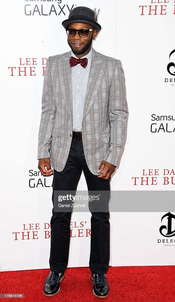 Nelsan Ellis attends 'The Butler' New York Premiere at Ziegfeld Theater on August 5, 2013 in New York City.
