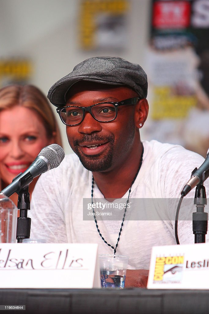 Nelsan Ellis attends TV Guide Fan Favorites panel at 2011 ComicCon International Day 1 at San Diego Convention Center on July 21 2011 in San Diego...