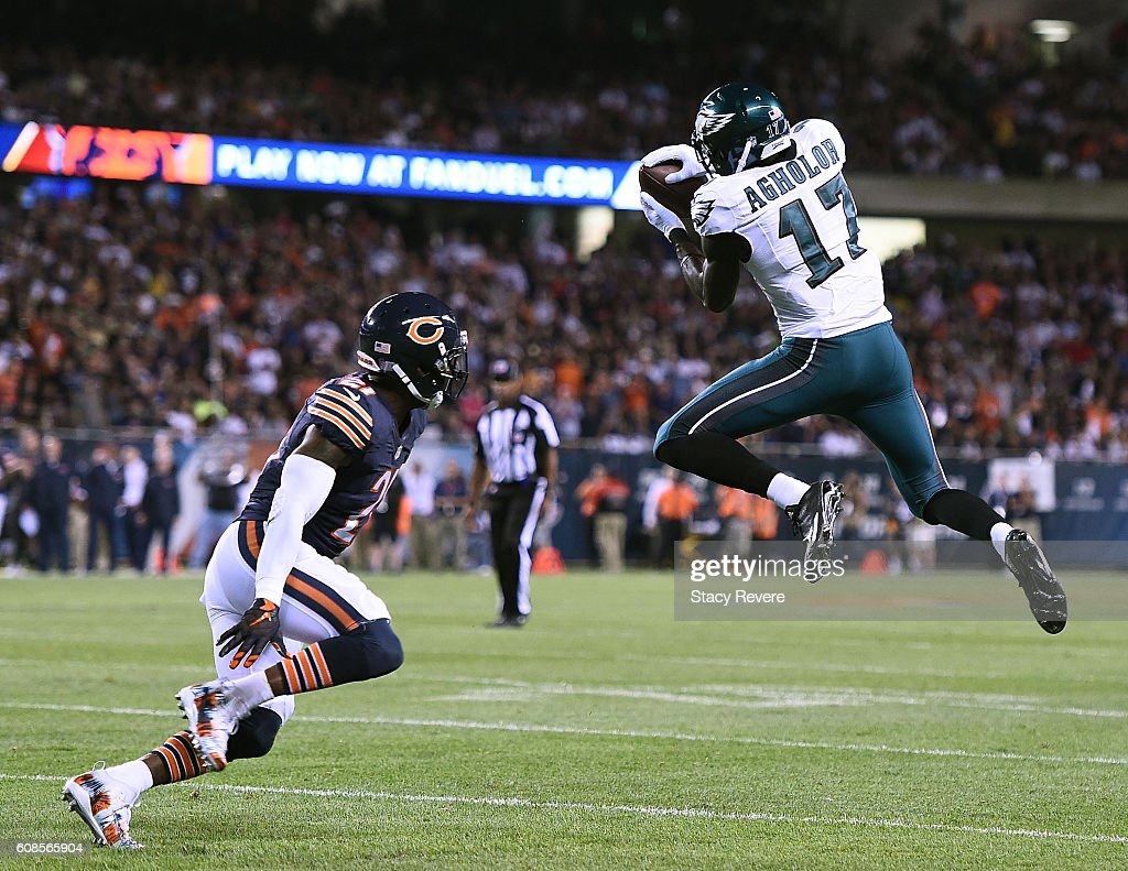 5c8f3af81 ... new zealand jersey women nelson agholor 17 of the philadelphia eagles  catches a pass in front