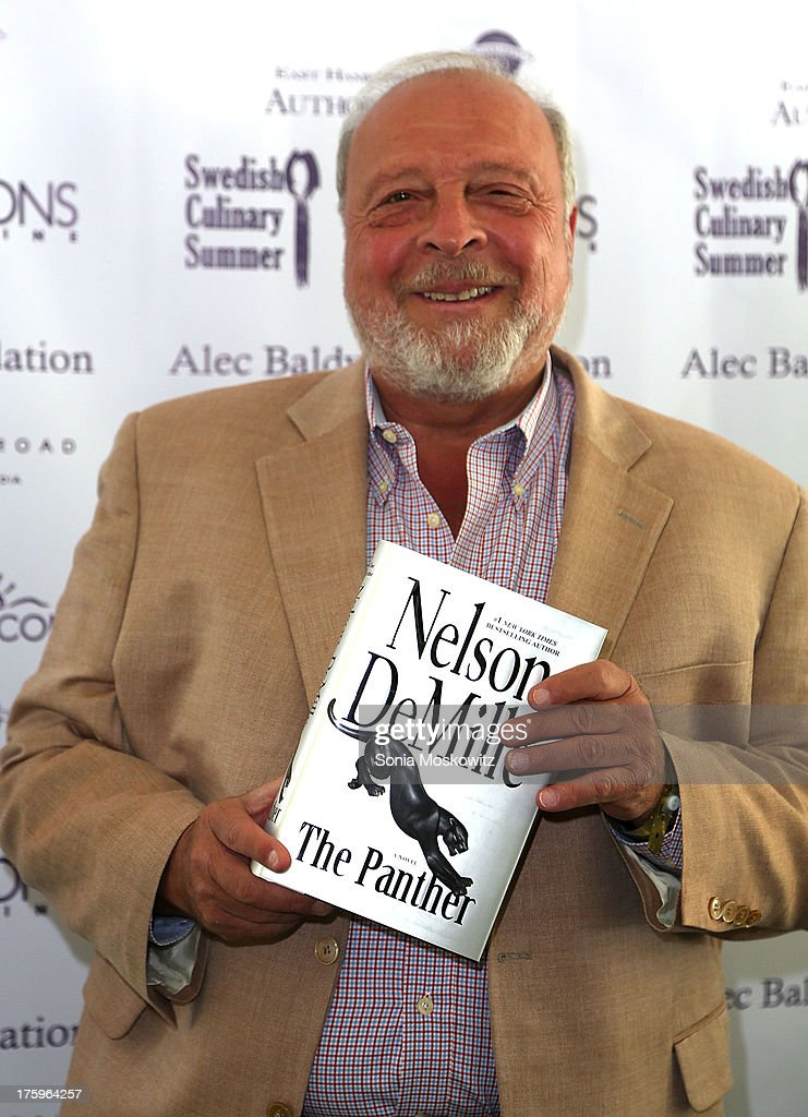 Nelson DeMille attends the East Hampton Library's Authors Night 2013 at Gardiner's Farm on August 10, 2013 in East Hampton, New York.