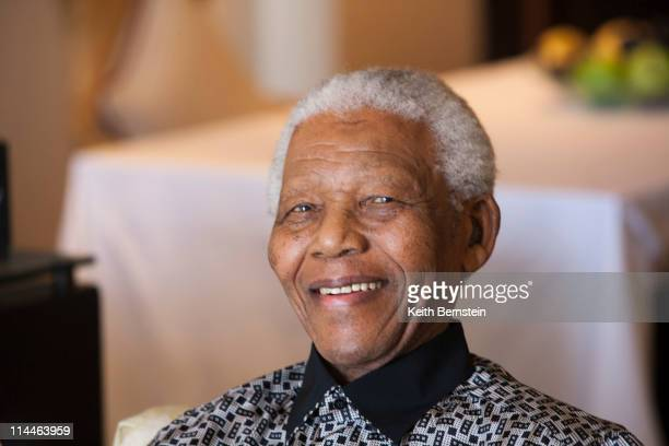 Nelson Mandela aged 90 Cape Town South Africa April 2009