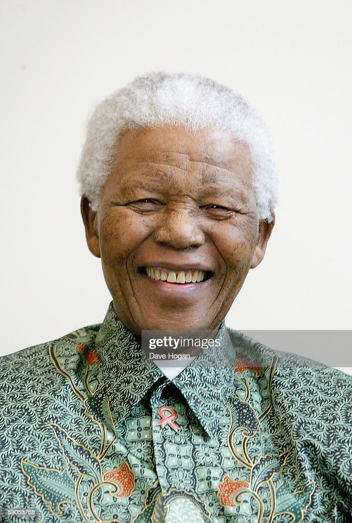 Nelson Mandela attends a photocall ahead of tonight's '46664 Arctic' concert, at the Rica Hotel on June 11, 2005 in Tromso, Norway. The fourth concert aims to raise awareness of and funds for the global HIV/AIDS pandemic, as well as funds for South Africa with proceeds going to the Nelson Mandela Foundation. Produced by Robbie Williams, it follows 3 previous concerts held in Cape Town, George and Madrid, and Mandela is expected to make a personal plea to leaders of the G8 summit in his address.
