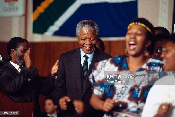 inauguration and nelson mandela Nelson mandela has always believed in the youth as the rock on which the  imprisonment and later his inauguration as south africa's first democratically.