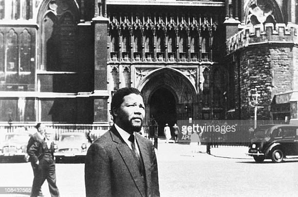 Nelson Mandela in London in 1961 The ANC responds to government's banning by endorsing an 'armed struggle' Mandela goes underground and launches the...