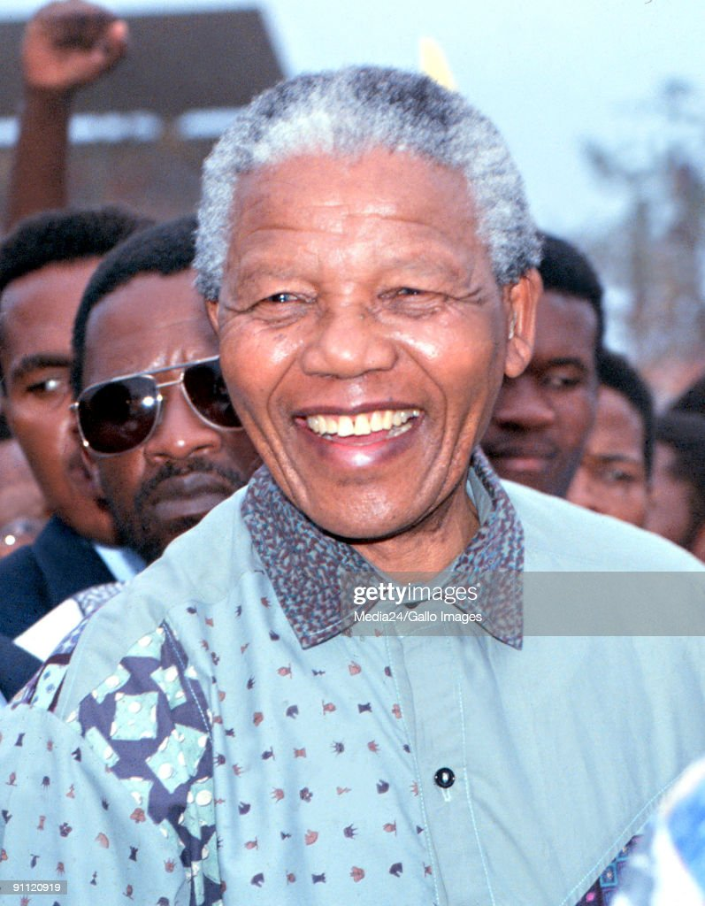<a gi-track='captionPersonalityLinkClicked' href=/galleries/search?phrase=Nelson+Mandela&family=editorial&specificpeople=118613 ng-click='$event.stopPropagation()'>Nelson Mandela</a> just before the first national elections in 1994. South Africa.