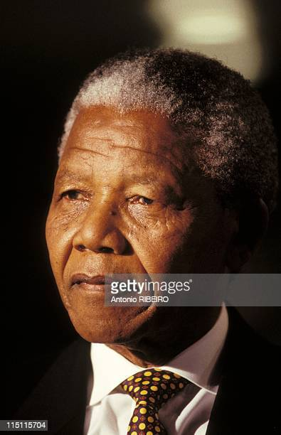 Nelson Mandela on JT in 20 hour in Paris France on October 14 1993
