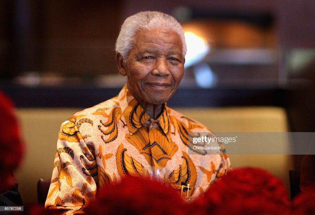 Nelson Mandela smiles during a lunch to Benefit the Mandela Children's Foundation as part of the celebrations of the opening of the new One&Only Cape Town resort on April 3, 2009 in Cape Town, South Africa. The One&Only is Sol Kerzner's first hotel in his home country since 1992. The 130 room property is One&Only's first Urban resort and sits in the fashionable Waterfront district. Celebrities from all over the world including Mariah Carey, Clint Eastwood, Matt Damon, Morgan Freeman, Thandie Newton and Marisa Tomei will attend the event. Gordon Ramsay will be launching his first restaurant in Africa at the resort, Maze and Robert De Niro will be opening Nobu. Nelson Mandela will be attending an intimate luncheon at Maze on Friday to celebrate his long-standing relationship with Mr. Kerzner.