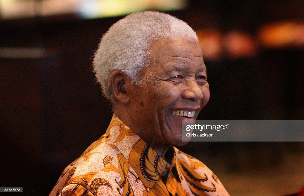 Nelson Mandela smiles during a lunch to Benefit the Mandela Children's Foundation as part of the celebrations of the opening of the new One&Only Cape Town resort on April 3, 2009 in Cape Town, South Africa. The One&Only is Sol Kerzner's first hotel in his home country since 1992. The 130 room property is One&Only's first Urban resort and sits in the fashionable Waterfront district. Celebrities from all over the world including Mariah Carey, Clint Eastwood, Matt Damon, Morgan Freeman, Thandie Newton, Marisa Tomei will attend the event. Gordon Ramsay will be launching his first restaurant in Africa at the resort, Maze and Robert De Niro will be opening Nobu. Nelson Mandela will be attending an intimate luncheon at Maze on Friday to celebrate his long-standing relationship with Mr. Kerzner.