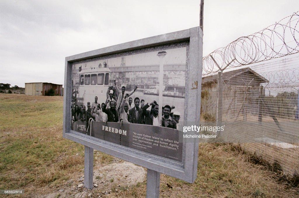 Nelson Mandela's prison in Robben Island He was Laureate of the prize in 1993 with Frederik De Klerk