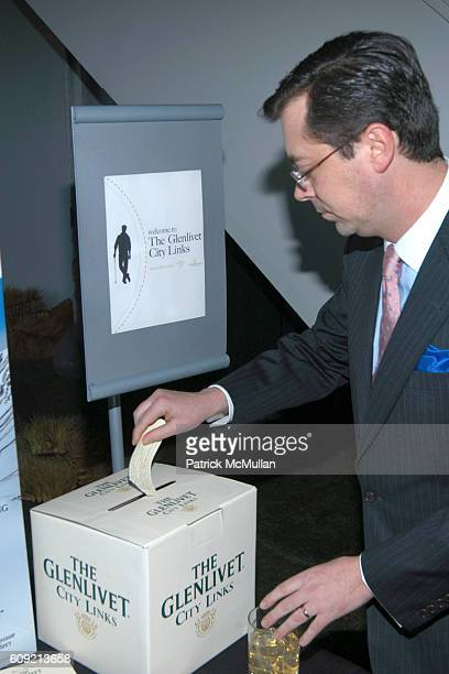 Nelson North attends SCOTCH WHISKY GOLF Hosted by The Wall Street Journal Paul Staurt at The Glenlivet City Links on February 9 2007 in New York City