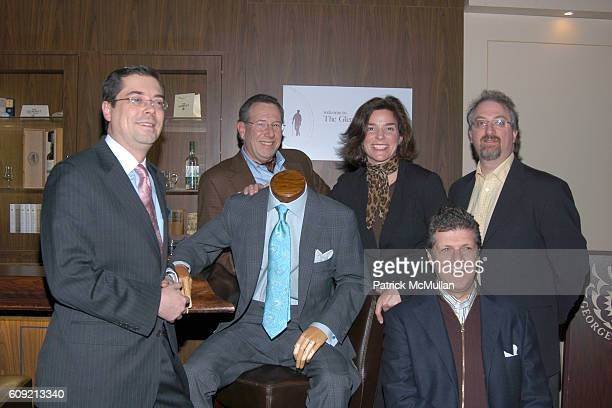Nelson North Daivd Albahari Mona Reilly Alan Marks and attend SCOTCH WHISKY GOLF Hosted by The Wall Street Journal Paul Staurt at The Glenlivet City...