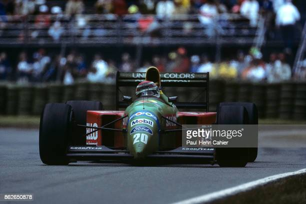 Nelson Piquet BenettonFord B190 Grand Prix of Canada Circuit Gilles Villeneuve 10 June 1990