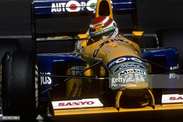 Nelson Piquet BenettonFord B191 Grand Prix of Canada Circuit Gilles Villeneuve 02 June 1991
