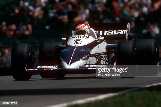 Nelson Piquet BrabhamBMW BT52 Grand Prix of Canada Circuit Gilles Villeneuve 12 June 1983