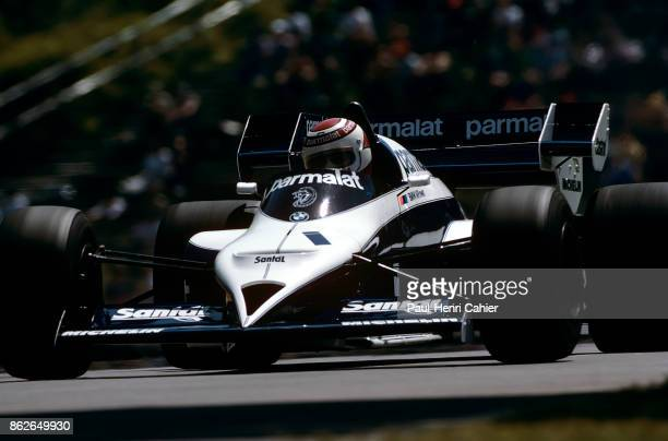 Nelson Piquet BrabhamBMW BT53 Grand Prix of Canada Circuit Gilles Villeneuve 17 June 1984