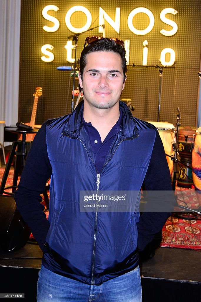 Nelson Piquet Jr attends 'An Evening With Ziggy Marley At Sonos Studio on April 3 2014 in Los Angeles California