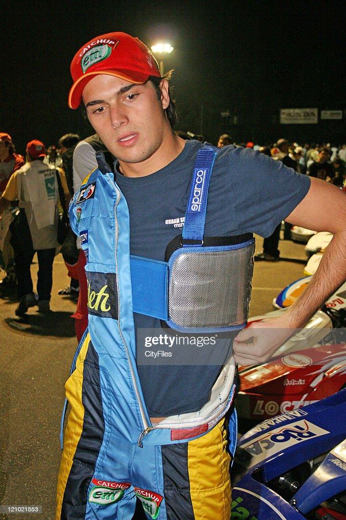 Nelson Piquet Jr during the Granja Viana 500 at Kartódromo Da Granja Viana near Sao Paulo Brazil on December 5 2006