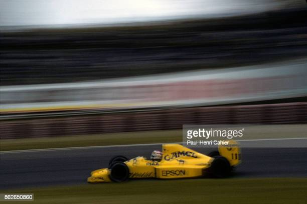 Nelson Piquet LotusJudd 101 Grand Prix of Japan Suzuka Circuit 22 October 1989