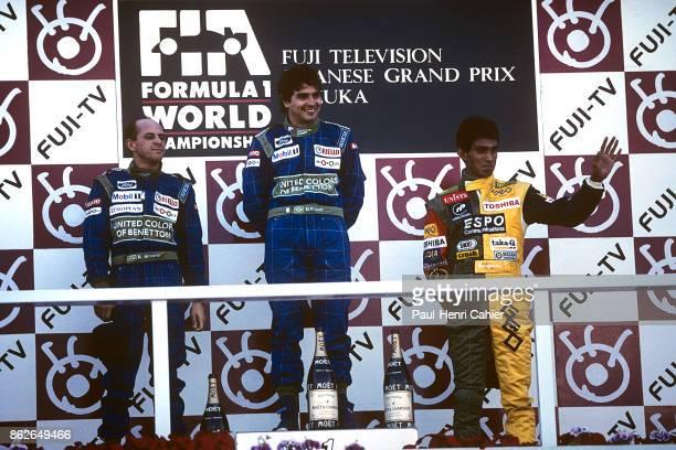 Nelson Piquet Roberto Moreno Aguri Suzuki Grand Prix of Japan Suzuka Circuit 21 October 1990