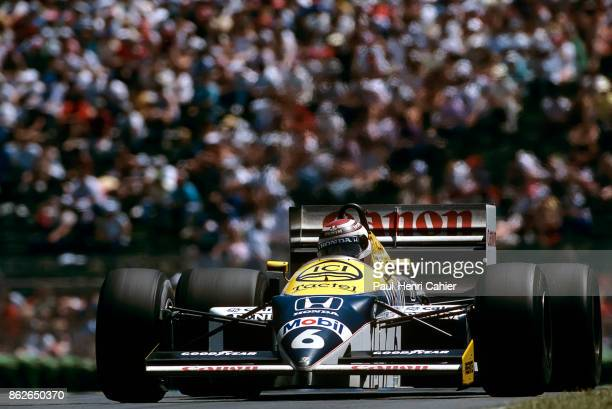 Nelson Piquet WilliamsHonda FW11 Grand Prix of Canada Circuit Gilles Villeneuve 15 June 1986