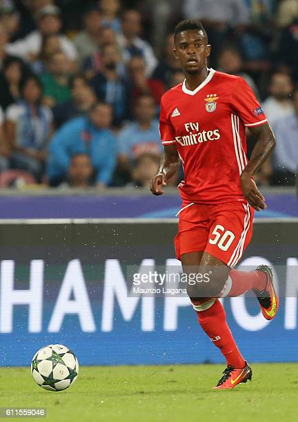 Nelson Semedo of Benfica during the UEFA Champions League match between SSC Napoli and Benfica at Stadio San Paolo on September 28 2016 in Naples